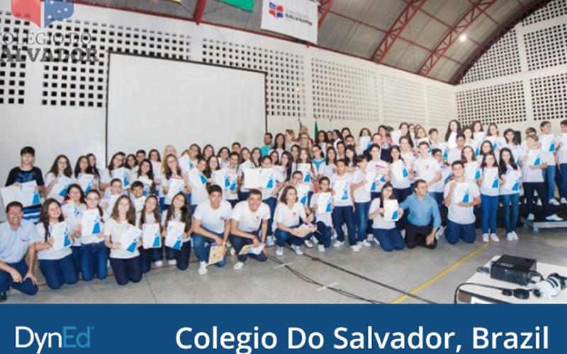 巴西阿拉卡茹94名学生首次获得戴耐德Pro认证证书