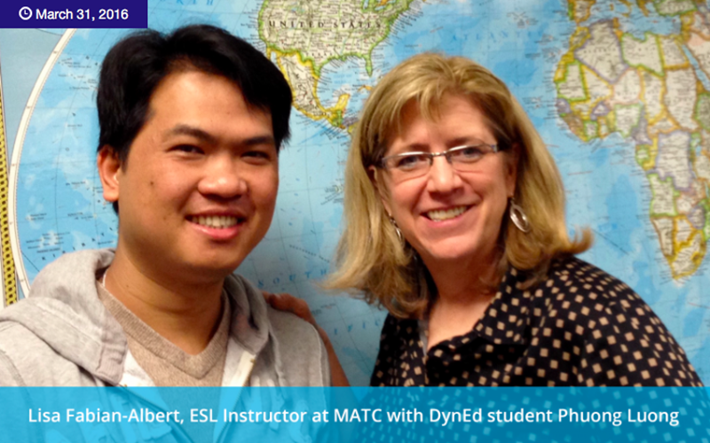 DynEd Students at MATC Reach English Fluency Faster!_副本
